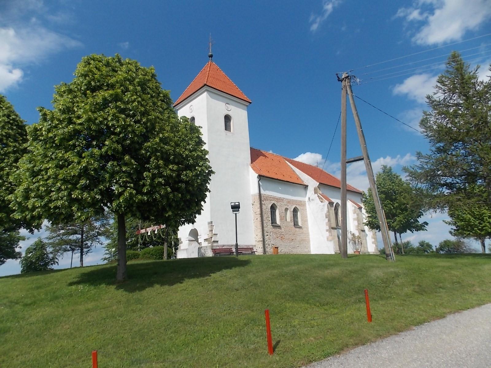 Cerkev Nedela - Gornji Petrovci