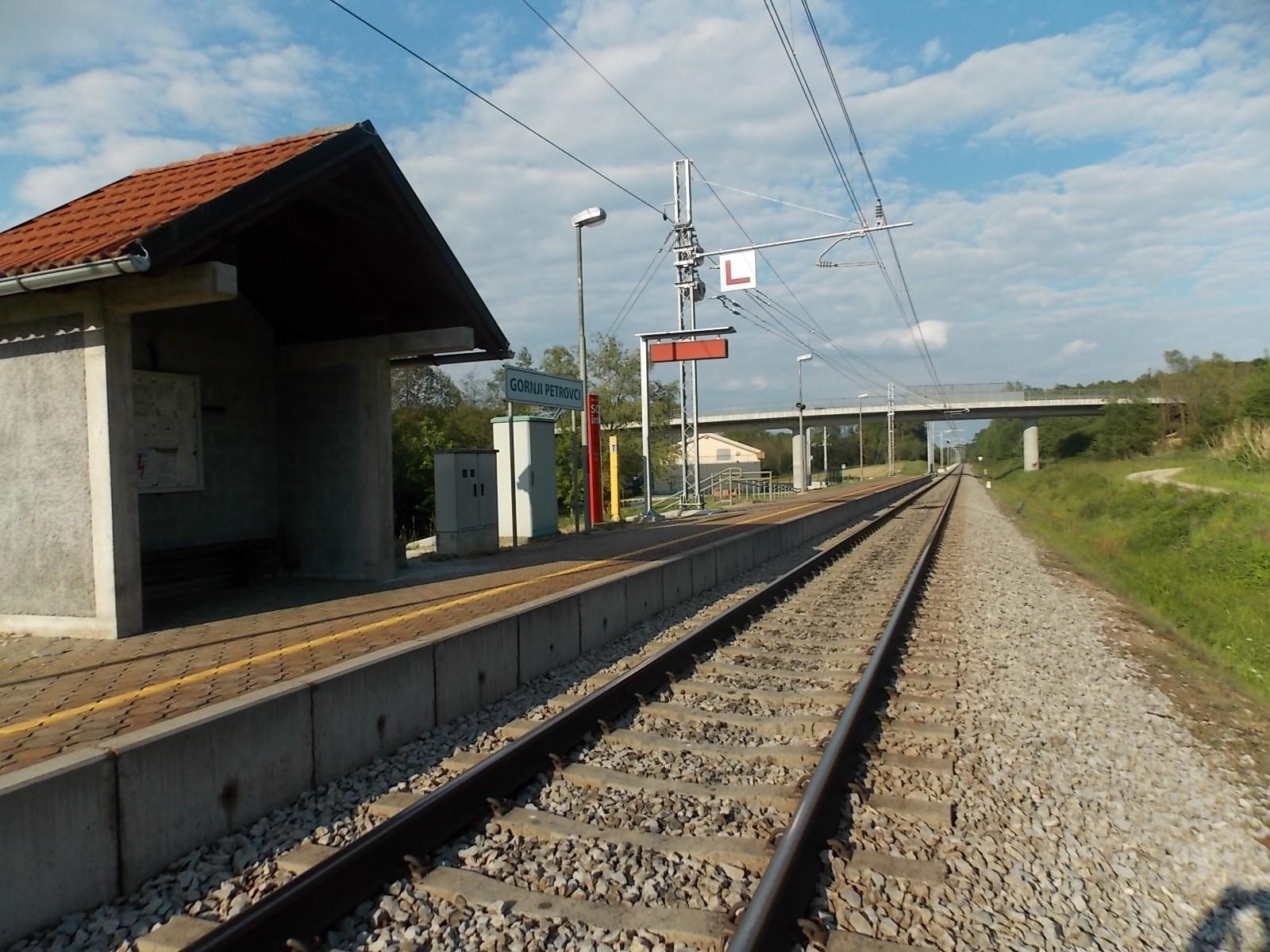 Železniška postaja - Gornji Petrovci